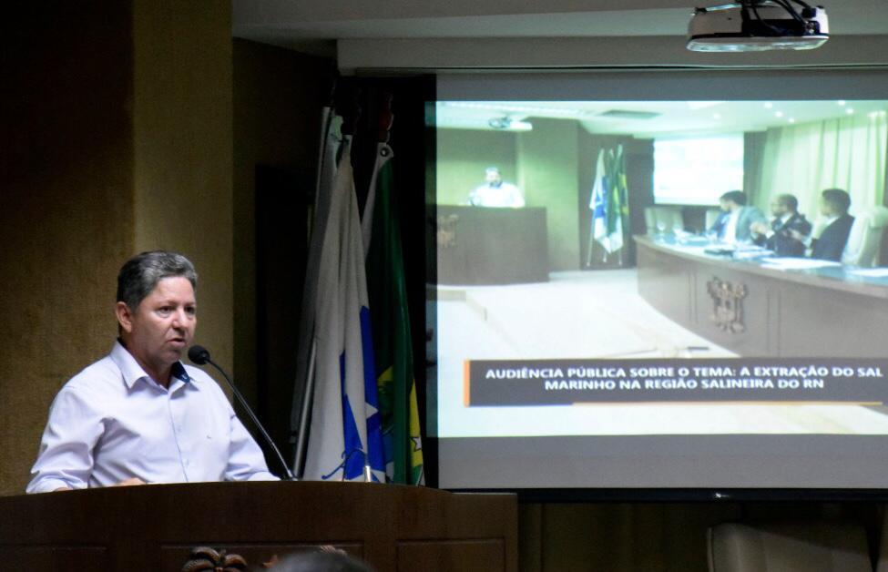 Túlio Lemos sugere Marco Regulatório para resolver impasse judicial com salinas