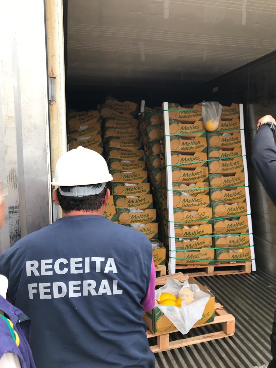 PF: Porto de Natal é ponto de embarque para tráfico internacional de cocaína